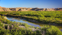 Rio Grande River In Big Bend N...