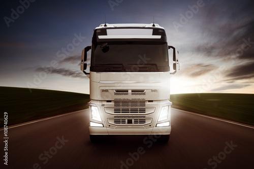 Plakat Ciężarówka