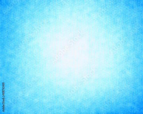 horizontal empty cyan blue vintage textured postcard background