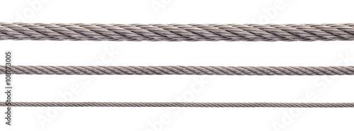 Fotografía  Metal cable