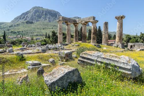 Valokuva  Ruiny antycznego Koryntu
