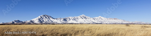 Recess Fitting Mountains A Panorama of the Snowy Huachuca Mountains