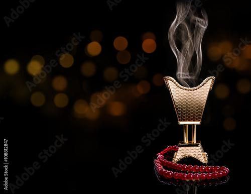 Fotografija  Ramadan censer with rosary