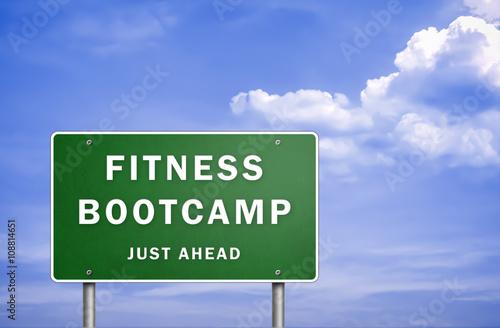 Fotografie, Obraz  Fitness bootcamp - just ahead