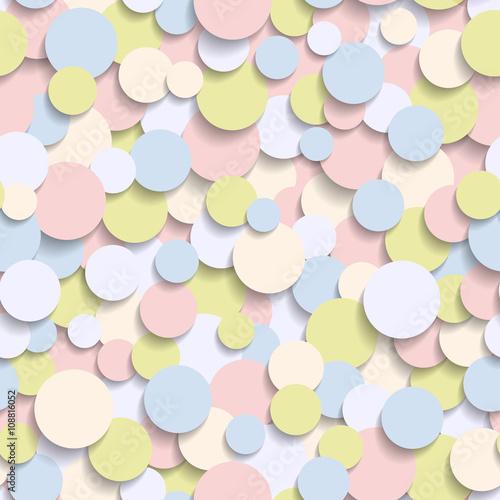 wzor-z-barwionymi-okregami-3d