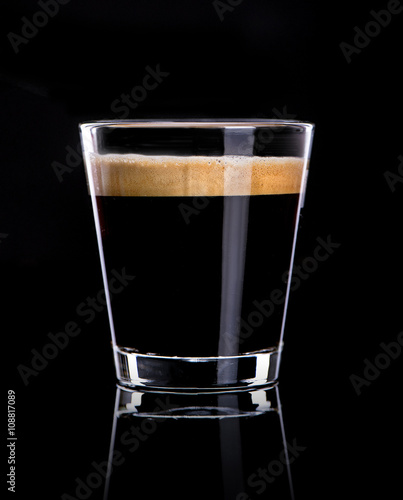Photo  Cup of espresso coffee