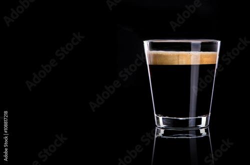Photo  Cup of espresso coffee
