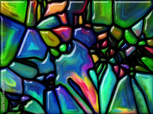 Poster Graffiti Realms of Glass