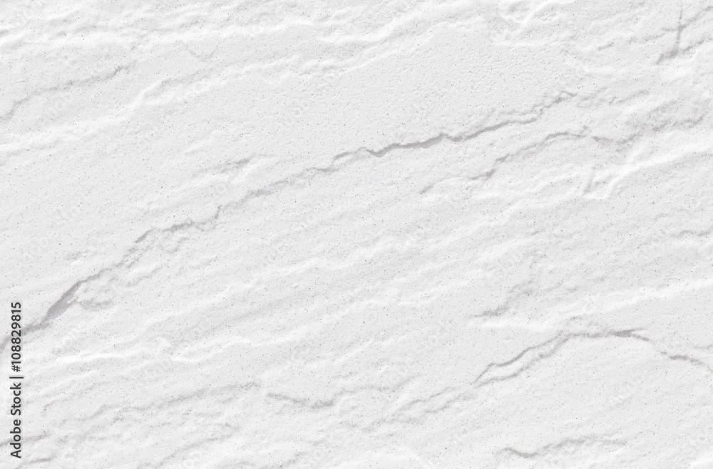 Fototapeta White natural stone seamless background and texture..
