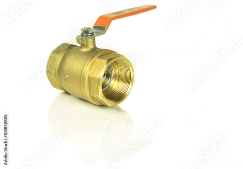 Photo  Bass valve for use in the plumbing system