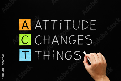 Attitude Changes Things Wallpaper Mural