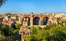 Basilica Of Maxentius And Constantine, Ruins In The Roman Forum
