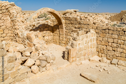 Foto op Aluminium Rudnes Ruins of the ancient Nabataean Town Shivta