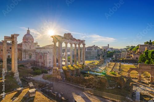 Poster Rome Roman Forum, Rome, Italy