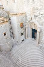 Dubrovnik Dominican Monastery Entrance