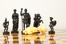 Beautiful Carved Chess Pieces ...