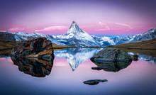 Stellisee Und Matterhorn In De...