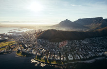Birds Eye View Of City Of Cape...