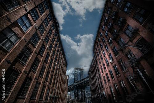 Naklejki na meble Most Manhattanu