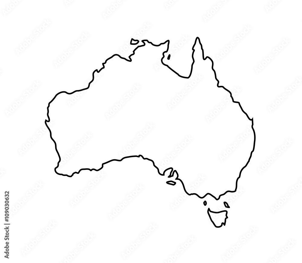 Fototapeta australien