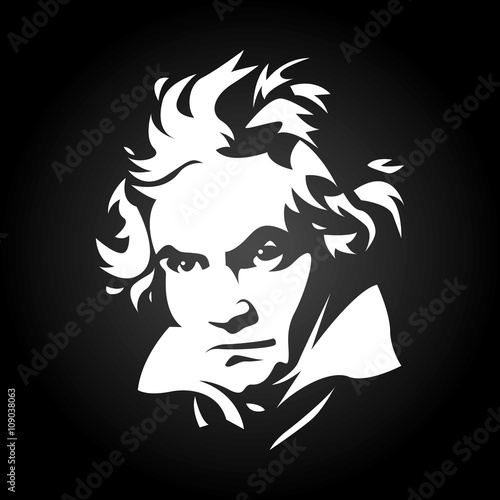 Fotomural  Beethoven
