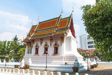 Wat Thung Si Muang In Ubon Ratchathani, Thailand