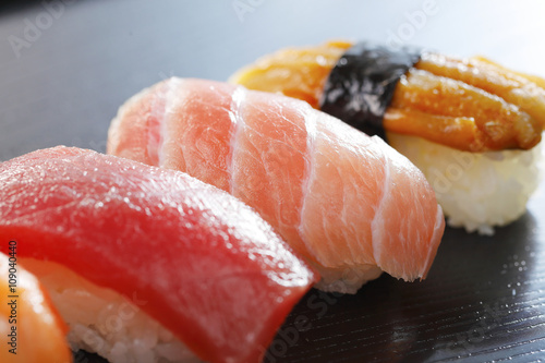 Foto op Canvas Sushi bar 寿司 Japanese Sushi