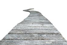 Cement Block Walkway Isolate O...