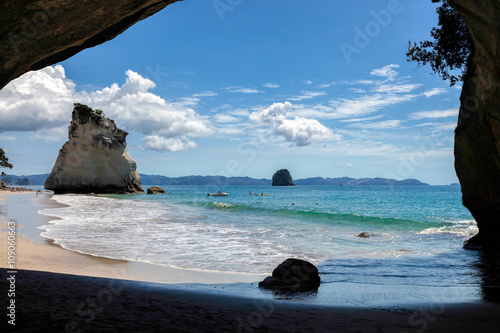 Staande foto Cathedral Cove Cathedral Cove Coromandel Peninsula