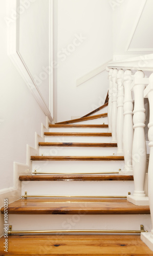Photo Stands Stairs wooden stairs vintage