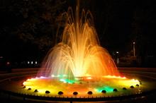 Magic Fountain With Colorful I...