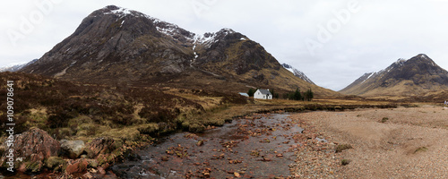 Photo  Panoramic Glencoe