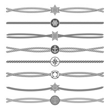 Marine Ropes Vector Dividers A...