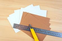 Paper Cutter Ruler