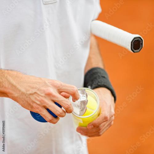 New tennis balls Poster