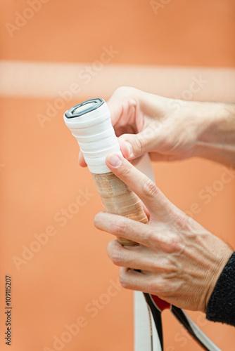 Tennis grip tape Tableau sur Toile