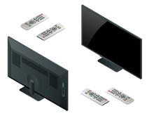 TV Flat Screen Lcd, Plasma Rea...