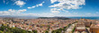 """Panoramic view of Cagliari, south view with the """"Urpinu and Sella del Diavolo"""" hill's in distance"""
