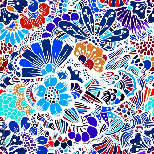 Materiał do szycia Jednolity wzór kwiaty