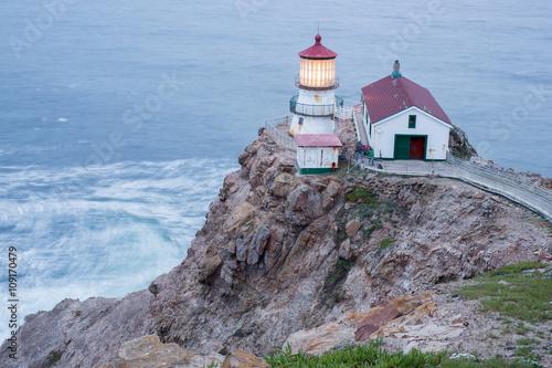 Fotografie, Obraz  Point Reyes Lighthouse, Dusk