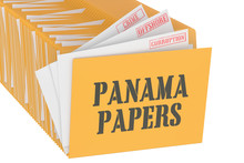 Panama Papers Concept, 3D Rendering