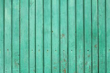 green wooden boards texture