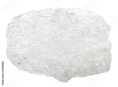 Ammonium aluminium sulfate (alum) raw stone Canvas Print