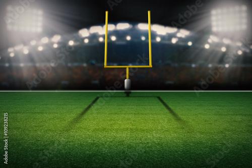 american football field goal post Tapéta, Fotótapéta
