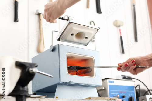 Fényképezés  Piec do wypalania ceramiki