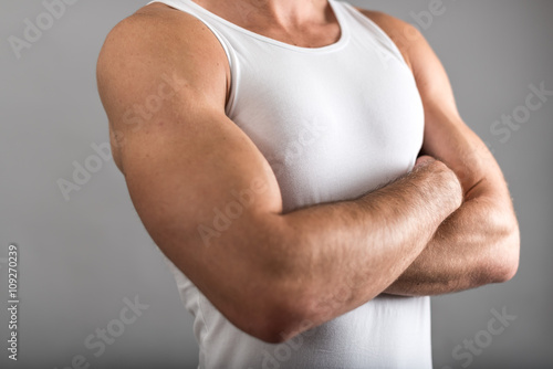 Fototapeta Athletic man
