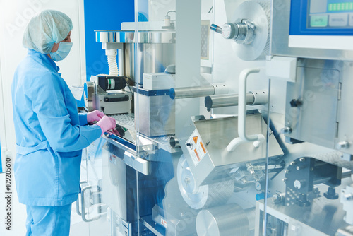 Pharmaceutics Canvas Print