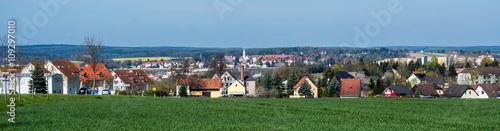 Plakat Panorama miasta Werdau