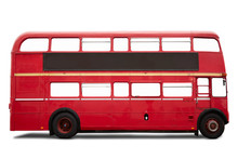 Red London Bus, Double Decker ...