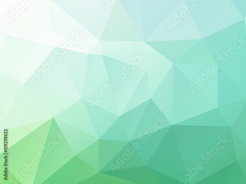 Láminas  Abstract blue green vector background